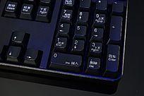 高清拍摄电脑键盘细节大图