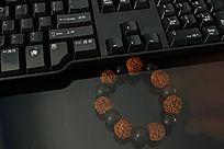 高清拍摄电脑键盘细节素材
