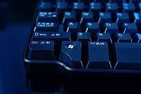 高质感拍摄电脑键盘局部细节素材