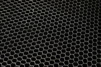 金属蜂巢网背景纹理底图