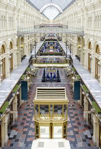 欧式古典室内商场内廷