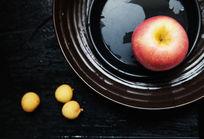 苹果和桂圆