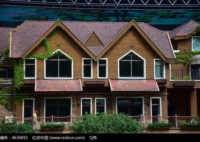 特色小别墅模型