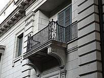 洋楼上的阳台