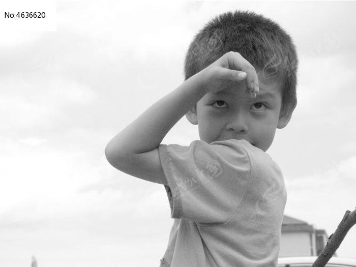 扮孙悟空模样子的孩子图片