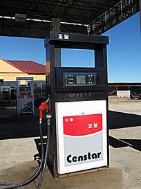 加油站的加油机