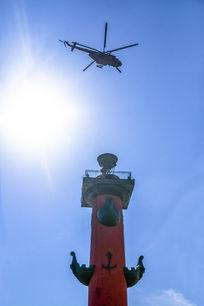 拉斯特莱里柱灯塔