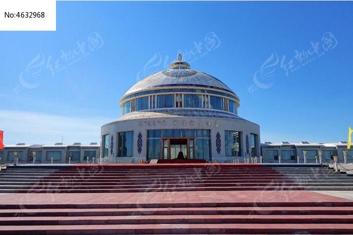 蒙古包造型的酒店建筑图片图片