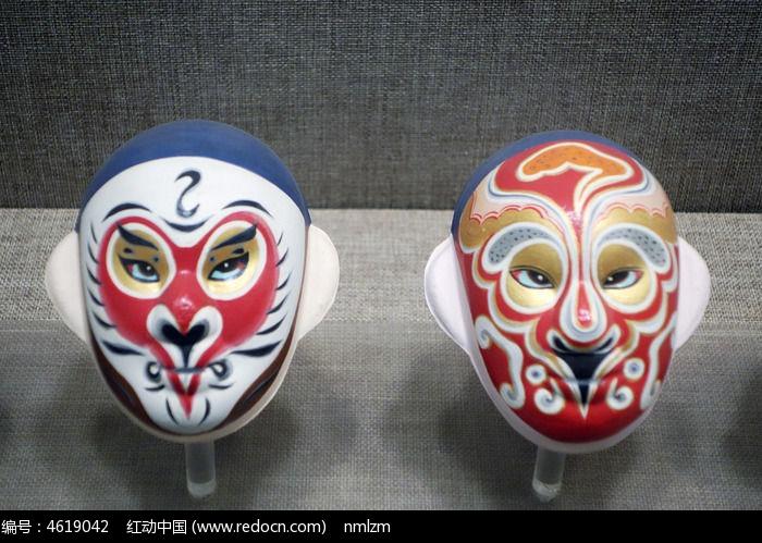 清朝美猴王脸谱