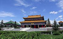 寺庙建筑摄影图片