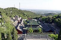 月山寺鸟瞰图