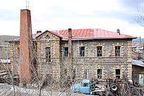 中东铁路遗址石头房