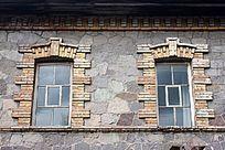 中东铁路遗址 石头房窗户