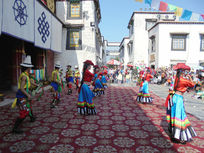 藏族歌舞表演