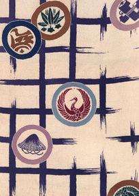 抽象图案拼图布