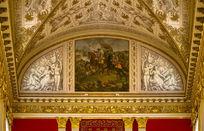 宫殿油画穹顶