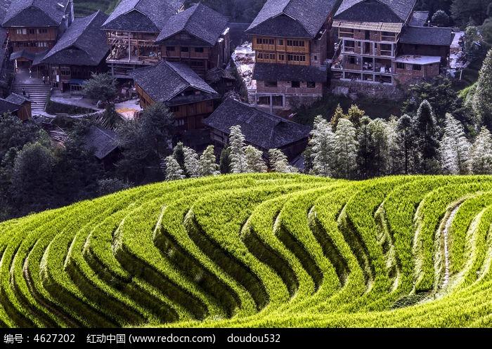 桂林人文景观_桂林双塔摄影图__人文景观_旅游摄影_摄影图