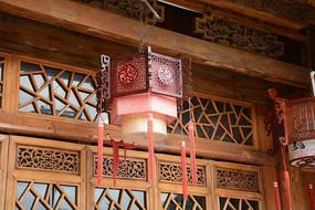 古典木灯笼