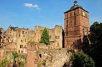 海德堡的老城堡