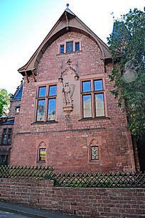 海德堡的老城堡教堂