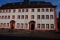海德堡老城堡区的红房子