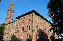 海德堡老城堡区钟楼