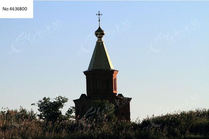 黑瞎子岛俄罗斯的教堂