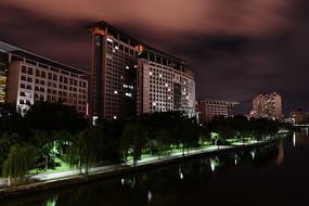 温州市政大楼夜景