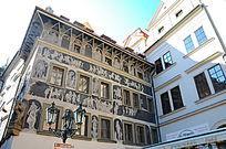 布拉格的老房子