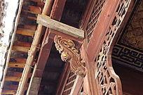 古民居房屋的木雕