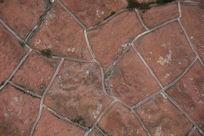 红色墙砖纹路纹理