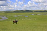 莫日格勒河草原风景