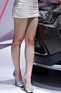 模特美腿长腿