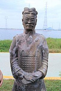 南越王国时期人物雕塑