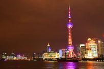 上海东方明珠夜景