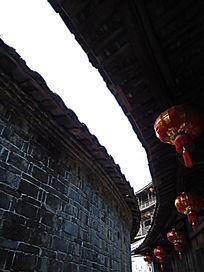 世界文化遗产福建弧形土楼