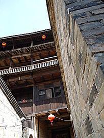 世界文化遗产福建三层的土楼