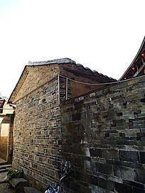 世界文化遗产福建永定的青砖房