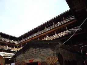 世界文化遗产永定的方型土楼