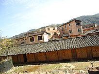 世界文化遗产永定土楼的矮房子