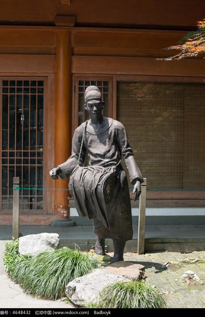 铜像雕塑打鼓的人高清图片下载 编号4648432 红动网