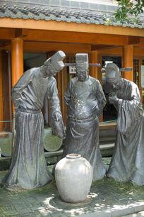 铜像雕塑图片 铜像雕塑设计素材