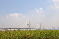 武汉的蓝天白云