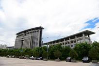 雄伟壮观的温州市政府大楼