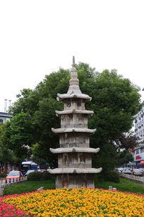 扬州唐代石塔