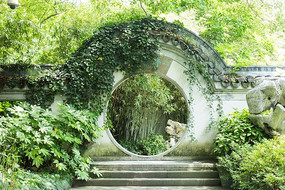 园林景观中国古典建筑