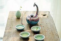 典雅的茶具