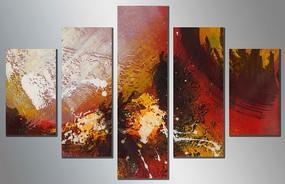时尚装饰画油画抽象油画