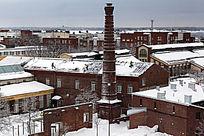 雪后城市景色