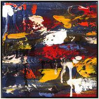 油画抽象画 家居装饰画